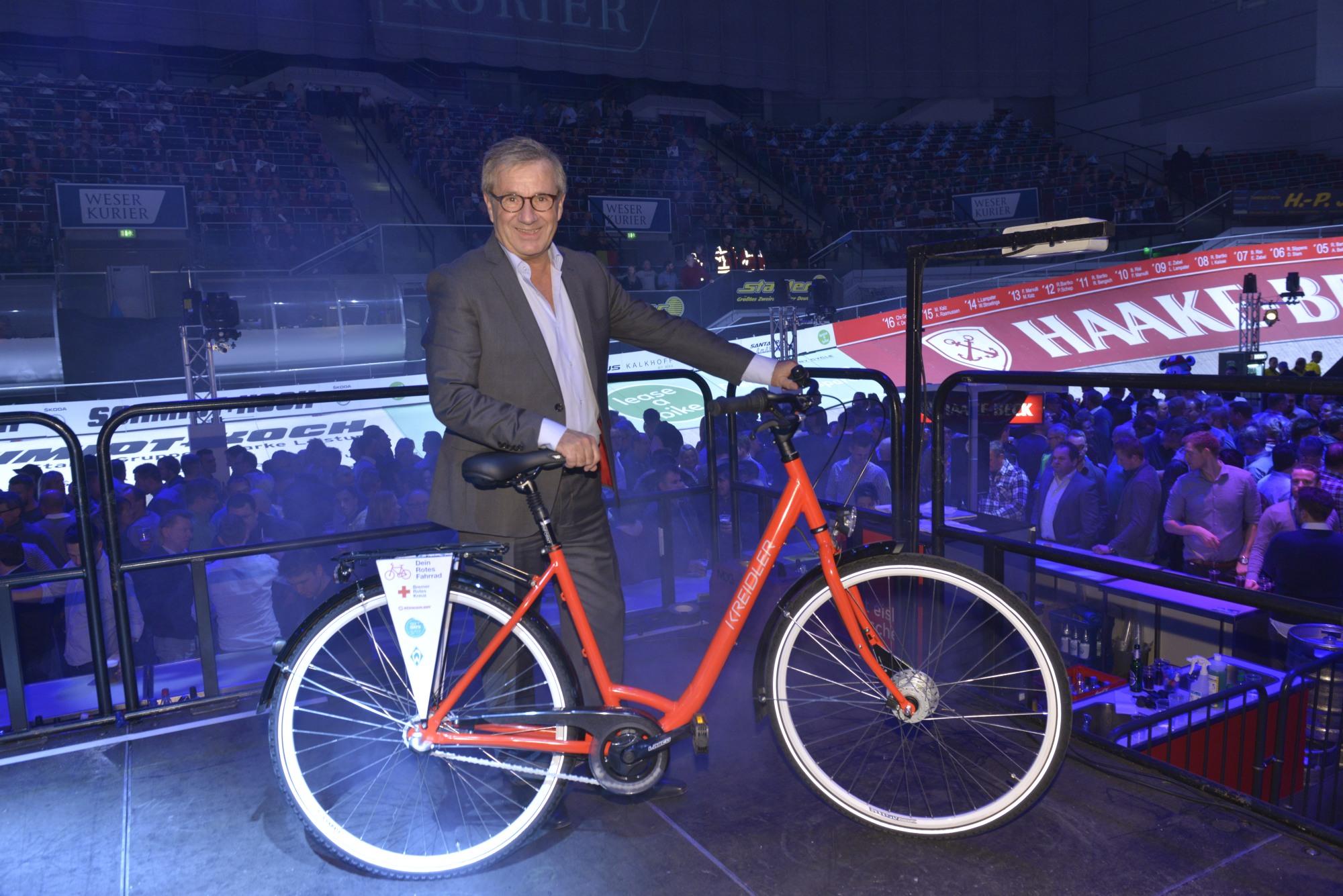 """SIXDAYS-Aktion """"Dein Rotes Fahrrad"""" erfolgreich"""