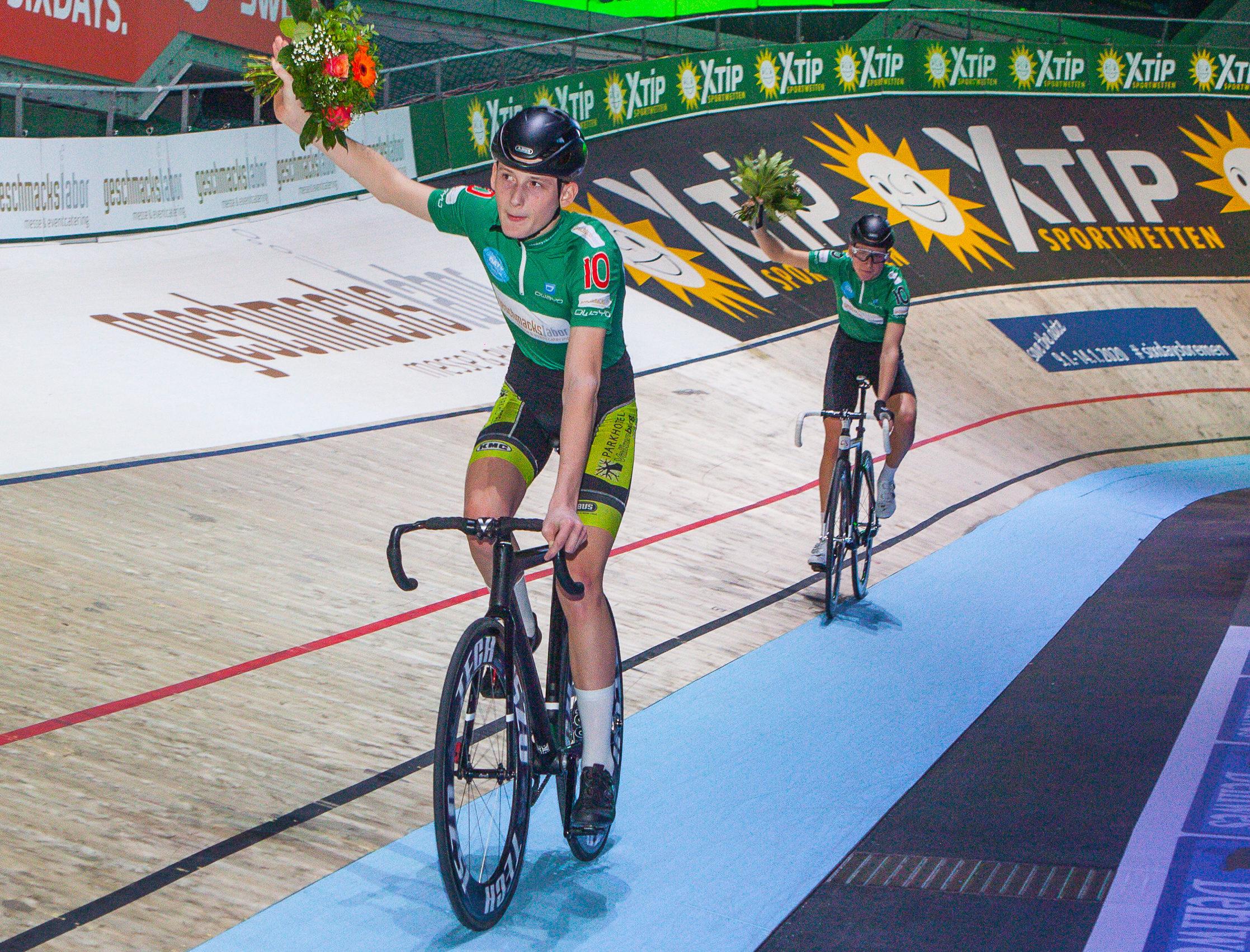 Lance Huenders und Tristan Kool (Team 10) gewinnen Andy-Kappes-Cup