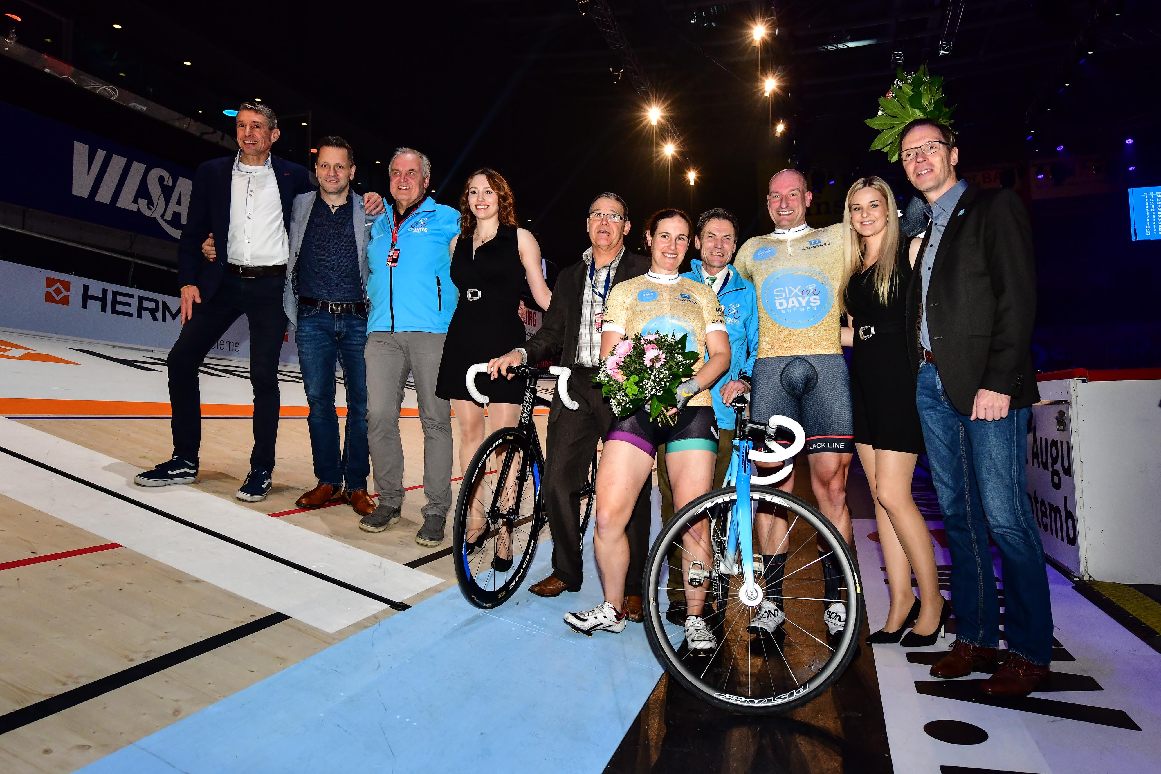 Stefanie Wasmundt und Marcel Laurenz sind die Sieger von DEIN RENNEN 2020