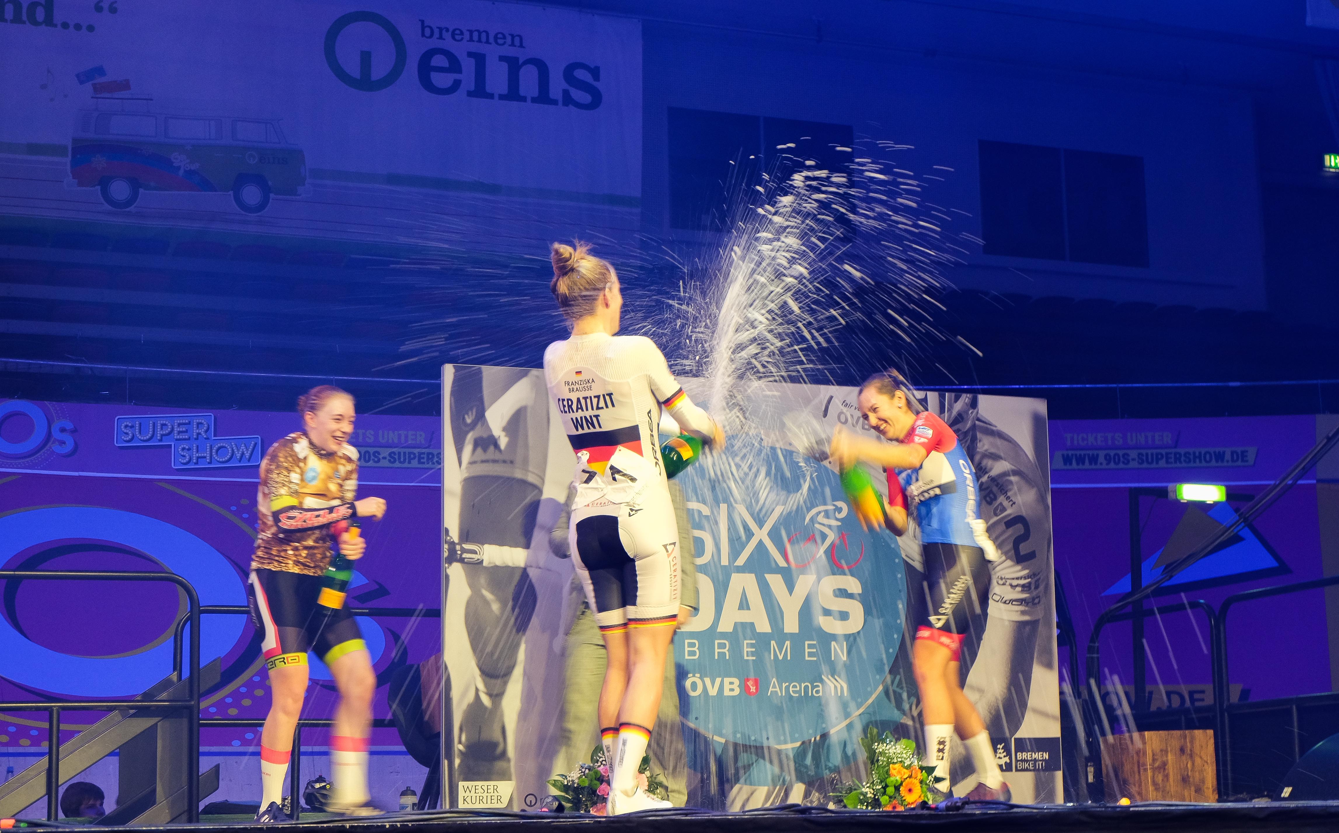 Britin Emily Nelson gewinnt Omniumwettbewerb
